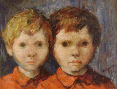 Copiii artistului