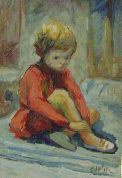 Fiica artistului