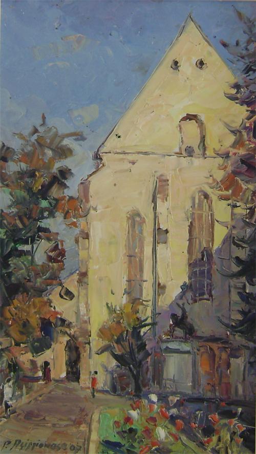 Biserica de pe strada Lupilor