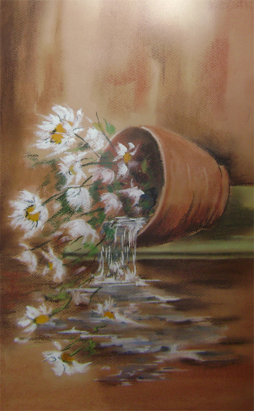 Flori rasturnate